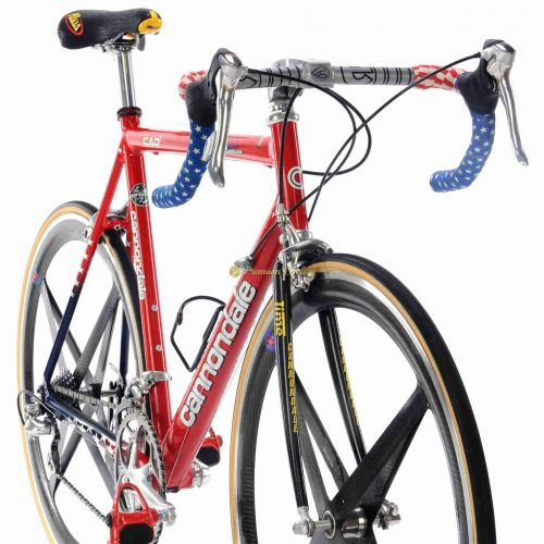 1990s CANNONDALE Caad3 Mario Cipollini signature edition Dura Ace 7700, vintage collectible bike by Premium Cycling
