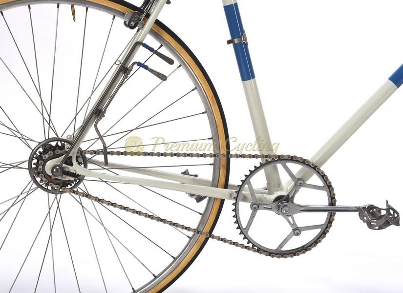 Atala steel vintage bike Campagnolo Cambio Corsa due leve 1940s Cesare Rizzato