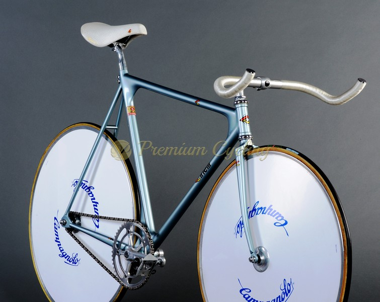 Cinelli Laser Pista Pursuit 1984 steel vintage bike