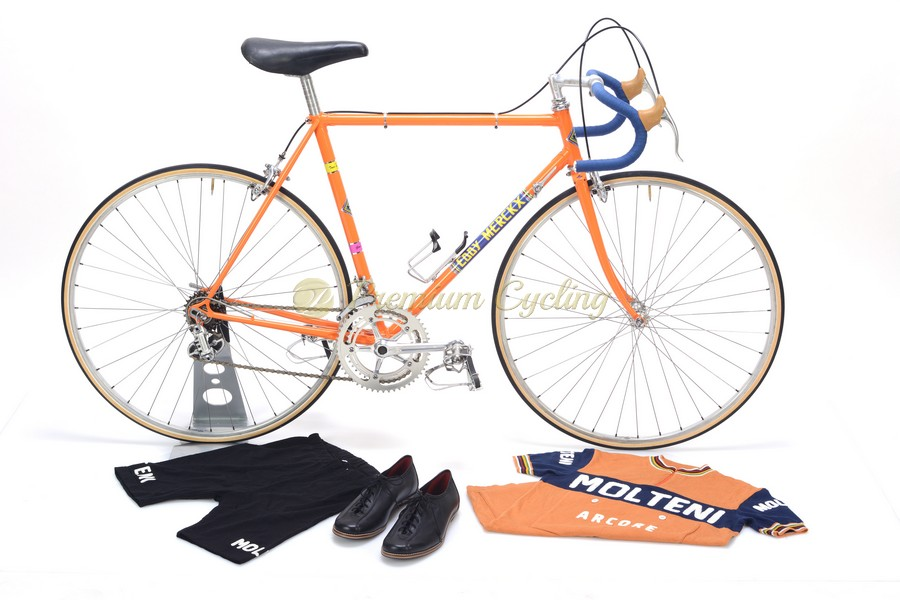 Colnago Super Eddy Merckx Molteni 1972 vintage steel classic racing bike Eroica