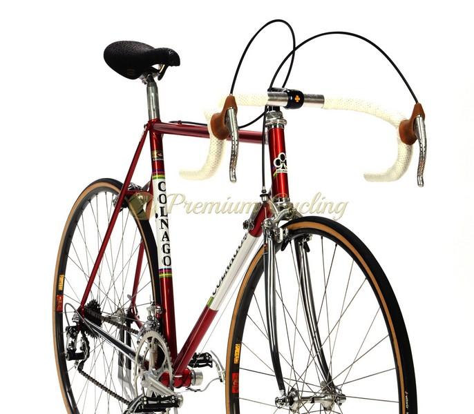1981 COLNAGO Mexico Saronni, Columbus KL, Campagnolo Super Record, Eroica vintage steel bike