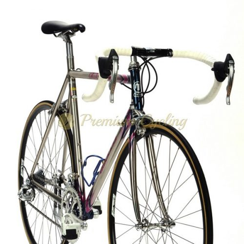 MOSER Leader AX Evolution 1995, Oria FSB tubing, Campagnolo Record 8 speed, vintage steel bike