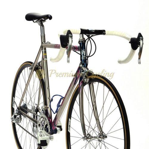 MOSER Leader AX Evolution 1995, Oria FSB tubing, Campagnolo Record 8 speed, vintage steel bike