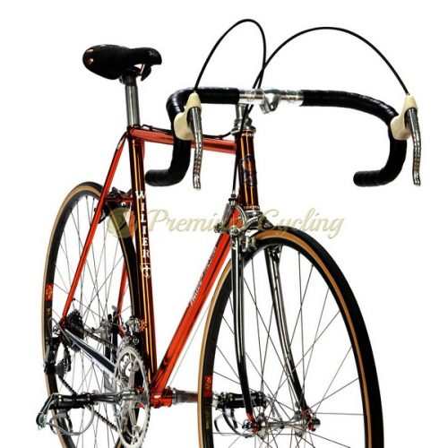 WILIER Superleggera Ramata Cromovelato 1982, Columbus SL, Campagnolo Super Record, Eroica vintage steel bike