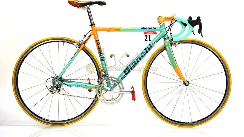BIANCHI Mega Pro Reparto Corse, Marco Pantani Mercatone Uno, Giro d'Italia, Tour de France 1998