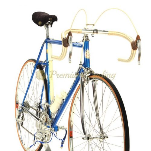 PINARELLO Treviso 1985, Campagnolo Vicotry full pantograph, new old stock, Eroica vintage steel bike