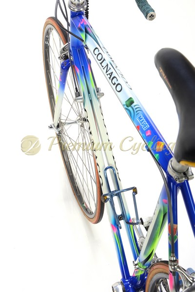 COLNAGO Master Bitian MAPEI 1995, Paolo Alberati, Shimano Dura ace 7410, original MAPEI cycling team bike