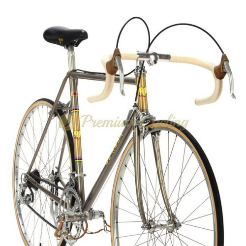 DE ROSA Strada Record 1975, Columbus SL, Campagnolo Nuovo Record, Merckx Eroica vintage steel bike