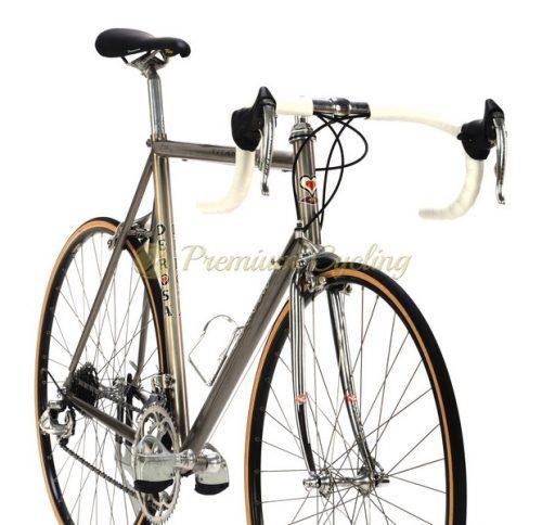 DeRosa Titanio 1994-95, Ermanno Brignoli Gewiss Ballan Team, Campagnolo Record 8s, vintage pro bike