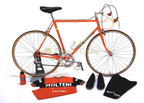 COLNAGO Super Eddy Merckx Molteni Team 1973, Columbus SL, Campagnolo Nuovo Record, Eroica vintage steel bike