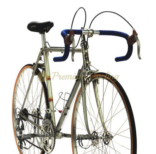 PATELLI Service Course, Campagnolo Record 1st generation 1960s, Eroica vintage steel bike