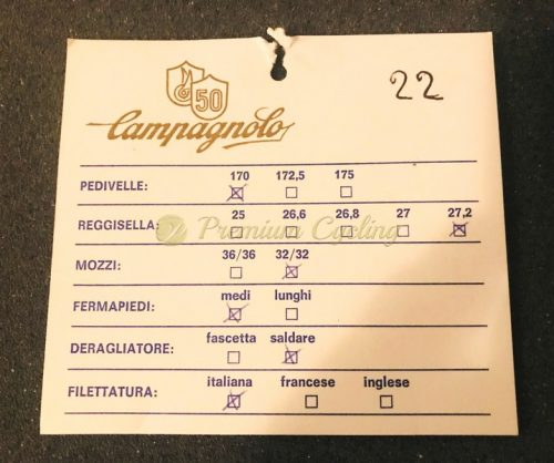 Campagnolo 50th Anniversary groupset, n.0022