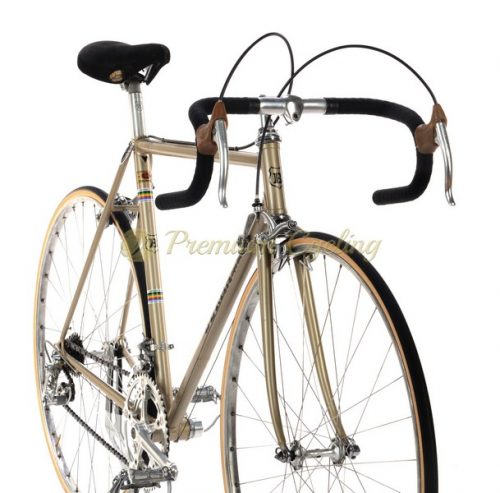 BERMA Campione del mondo, Columbus SL, Campagnolo Nuovo Record, 1970s Eroica vintage steel bike