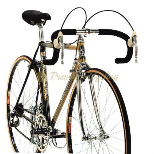 COLNAGO Nuovo Mexico 1984, Oro retinato, Crimpred SL tubing, Campagnolo Super Record, Eroica vintage steel bike