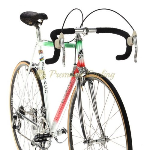COLNAGO Super Profil Tricolore 1982, crimped Columbus SL, Campagnolo Super Record, Eroica vintage steel bike