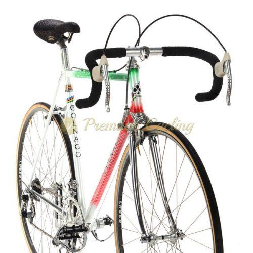 COLNAGO Super Profil Tricolore 1982, crimped Columbus SL, Campagnolo Super Record, Eroica vintage steel bike