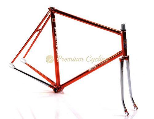 WILIER Triestina Pista Ramata Cromovelato 1984, vintage steel track bike