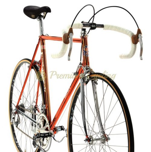 WILIER Superleggera Ramata 1984, Campagnolo 50th, Eroica vintage steel bike