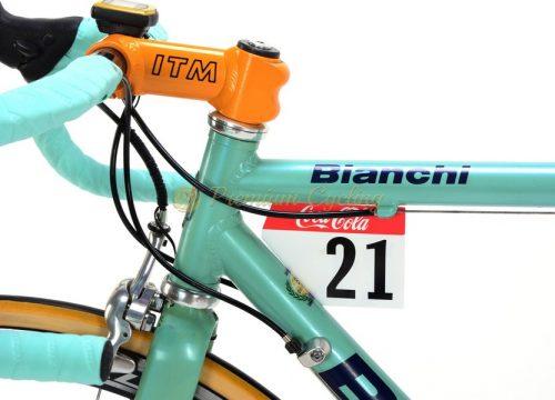 BIANCHI Mega Pro Mercatone Uno Pantani 1998, Campagnolo Record Titanium 9s, Shamal Black