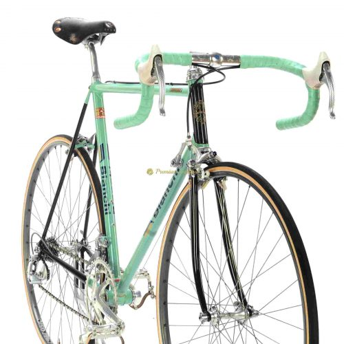 BIANCHI Specialissima X4 Argentin 1987, Campagnolo C Record Cobalto, Eroica vintage steel bike