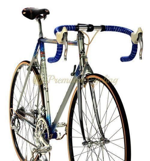 COLNAGO Master Aero Prototype C Record Delta 1987, vintage steel bike