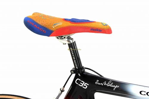OLNAGO C35 Art Decor, Campagnolo Record 10s Spinergy X-Rev, vintage collectible bike