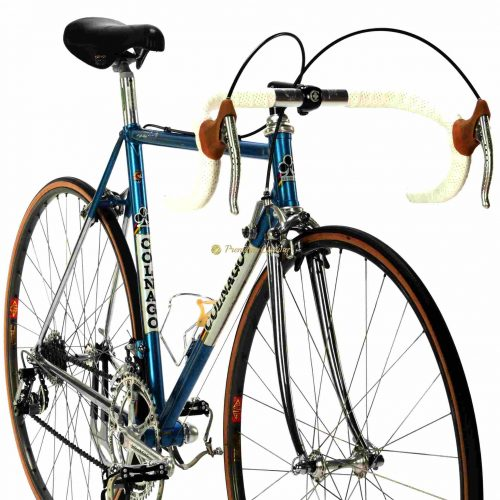 COLNAGO Nuovo Mexico 1982, full pantograph Campagnolo Super Record, Eroica vintage steel bike