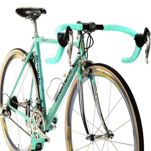 BIANCHI Mega Dedacciai Reparto Corse 1996, Campagnolo Record 8s, Mavic Cosmic 1st gen, vintage bike