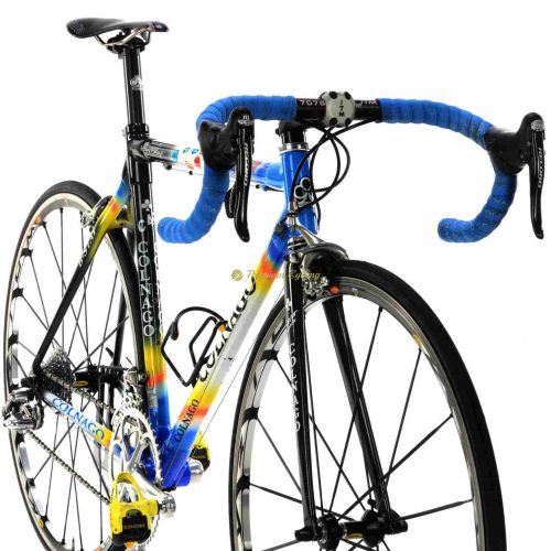 COLNAGO C40 Bstay Mapei 2001, Campagnolo Record 10s, collectible vintage bike