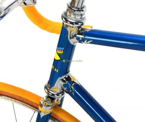 RAULER Special Track bike 1980s, Campagnolo Record Pista, vintage steel track bike