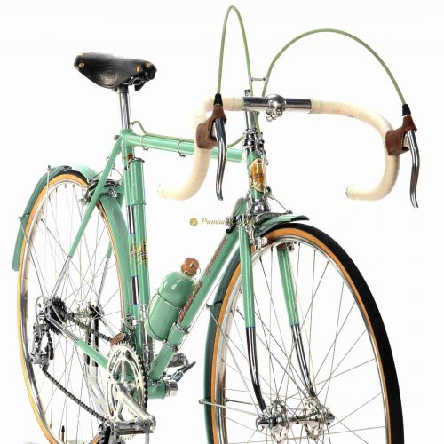 BIANCHI Specialissima 1960s, Campagnolo Record 1st gen, Eroica vintage steel collectible bike