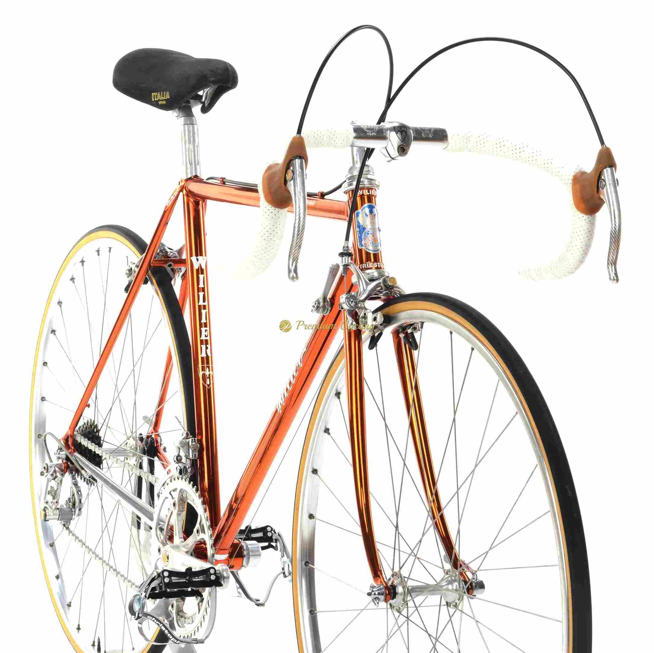 f1453c5bd15 WILIER Superleggera Ramata SL 1982, Campagnolo 50th Anniversary, Eroica vintage  steel collectible bike