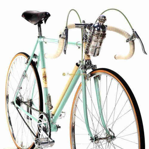 BIANCHI Folgore 1948, Campagnolo Cambio Corsa Due leve, Fausto Coppi, vintage steel collectible Eroica bike