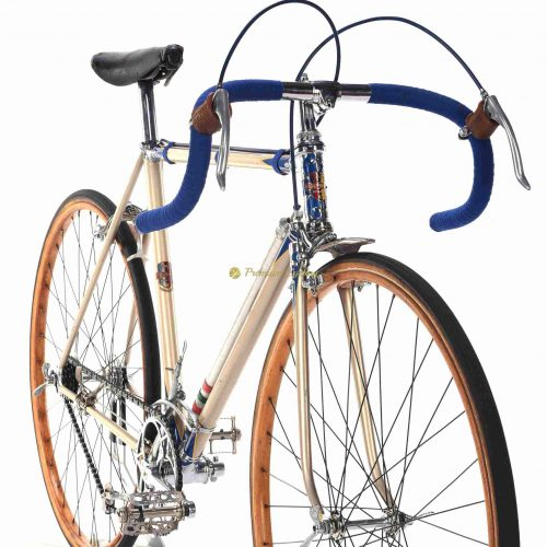 Gloria Garibaldina Corsa, 1936, Vittoria Margherita gears,, 1930s Eroica vintage steel collectible bike