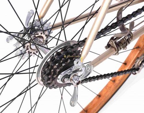 Gloria Garibaldina Corsa, 1936, Vittoria Margherita gears,, 1930s Eroica vintage steel collectible bike