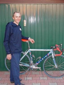 D.Rebellin (Gerlsteiner) with his KLEIN Q-Pro back in 2002