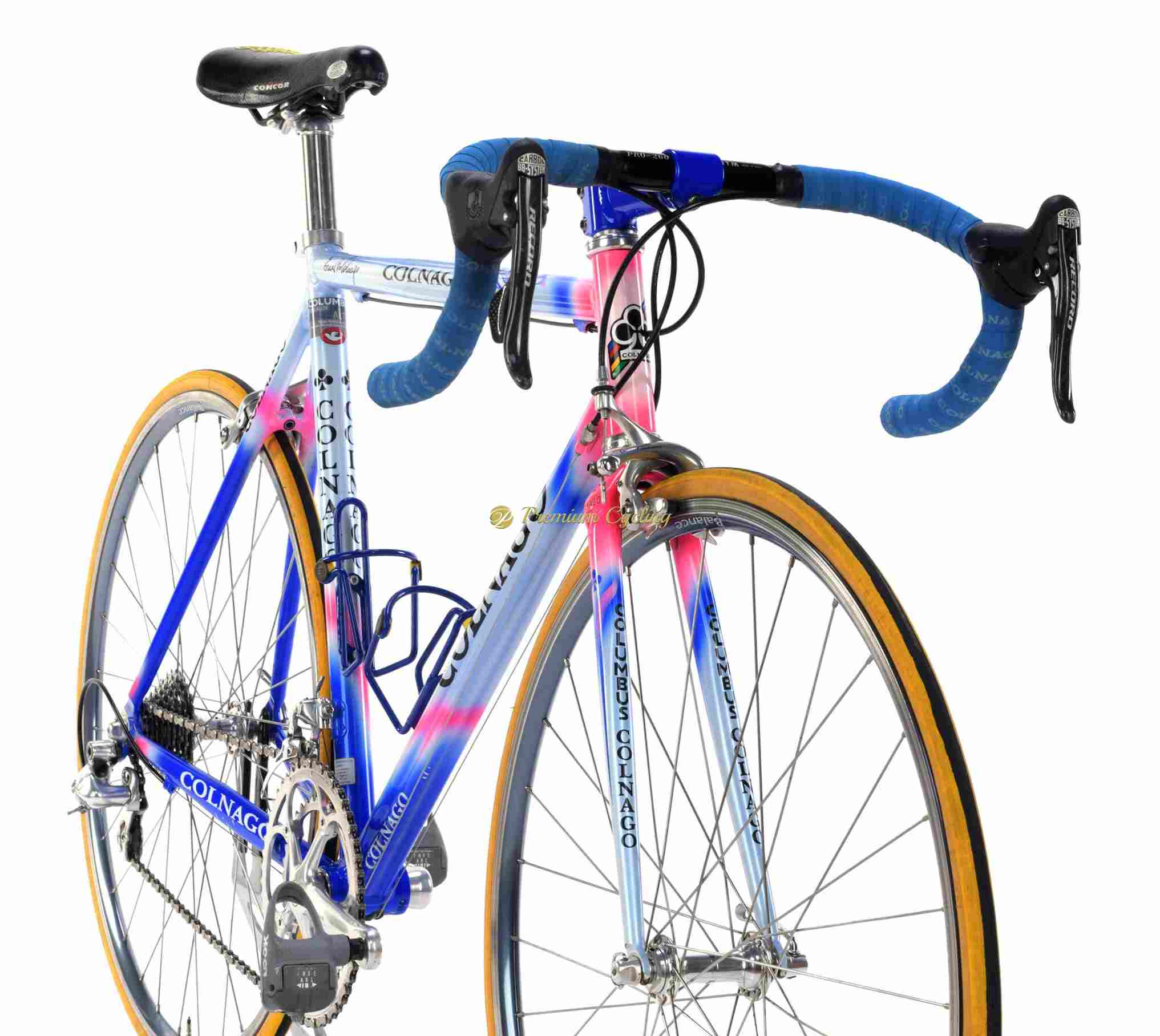 New White Colnago Road Bike Handlebar Cork Tape
