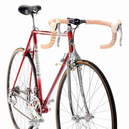 COLNAGO Master Del Tongo 1987-88, Campagnolo C Record Delta, Eroica vintage steel collectible bike
