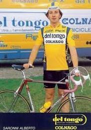 A.Saronni - Del Tongo Colnago 1987