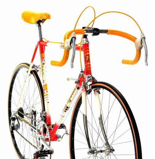 ROSSIN Strada SL 1985, Campagnolo Super Record, Eroica vintage steel collectible bike