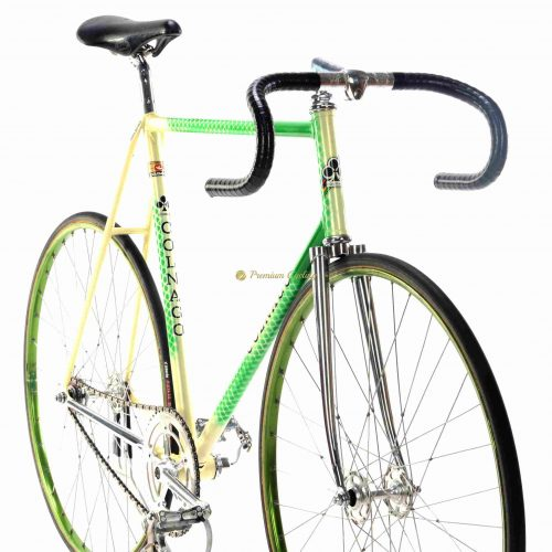 COLNAGO Super Pista early 1980s, Campagnolo Record Pista, vintage steel track fixed bicycle