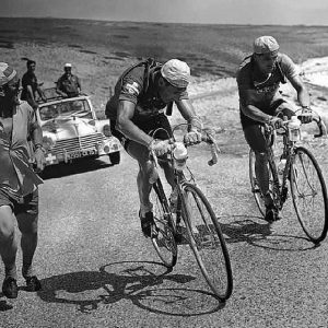 F.Kubler- winner of the Tour de France 1951
