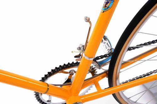 1952-53 BARTALI by Santamaria, Simplex gears, Eroica vintage steel colectible retro bicycle