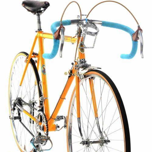 1952-53 BARTALI by Santamaria, Simplex gears, Eroica vintage steel colectible retro bicycle