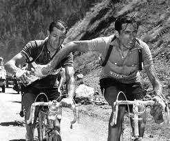 Biggest rivals - F.Coppi and G.Bartali