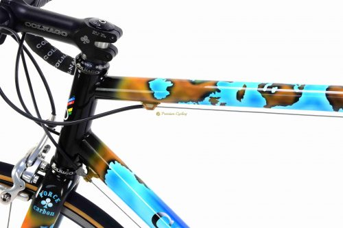 COLNAGO Titanio Geo 2000, Campagnolo Record 10s, vintage titanium collectible bike