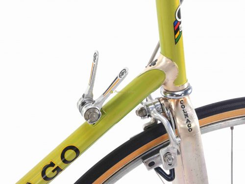 COLNAGO Mexico Time trial Aerodinamica, USSR 100km Moscow, 1981-82, Campagnolo Super Record, vintage steel collectible bike
