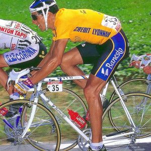 M.Indurain (Team Banesto) at the Tour de France 1991