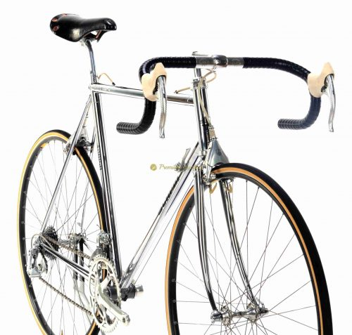 1988 SCAPIN KS-25, Campagnolo C Record Delta, vintage collectible chrome bike