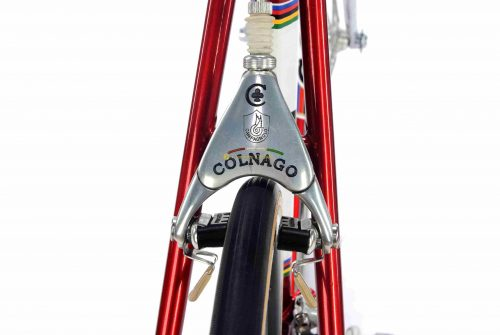 1989 COLNAGO Master Piu Saronni, Campagnolo C Record Delta, vintage steel collectible bike